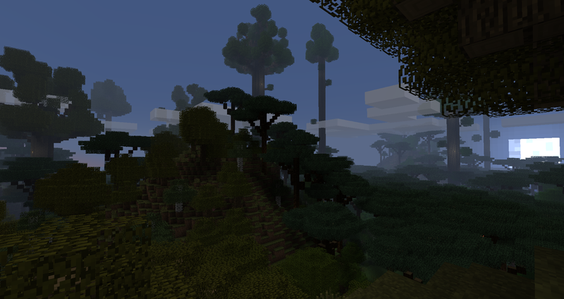 1472123210_785_The-Twilight-Forest-Mod-1.7.10 The Twilight Forest Mod 1.7.10