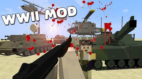Call-to-Battle-–-The-WWII-Mod-1.7.10 Call to Battle – The WWII Mod 1.7.10