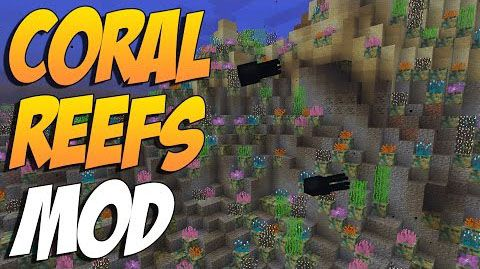 CoralReef-Mod-1.10.2 CoralReef Mod 1.10.2