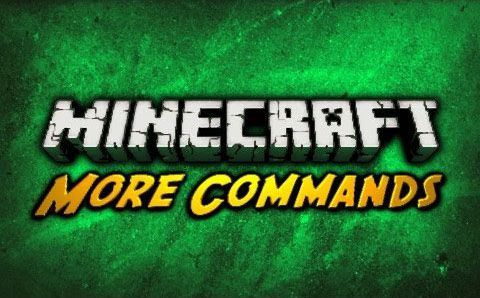 More-Commands-Mod-1.10.21.9.4 More Commands Mod 1.10.2/1.9.4