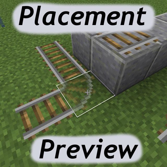 Placement-Preview-Mod-1.10 Placement Preview Mod 1.10.2