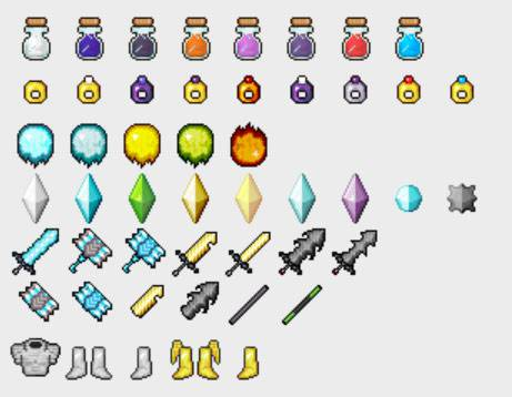 1473007234_221_God's-Weapons-Mod-1.10.21.9.4 God's Weapons Mod 1.10.2/1.9.4
