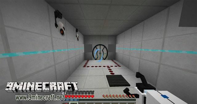 Скачать мод на portal gun майнкрафт 1.7.2