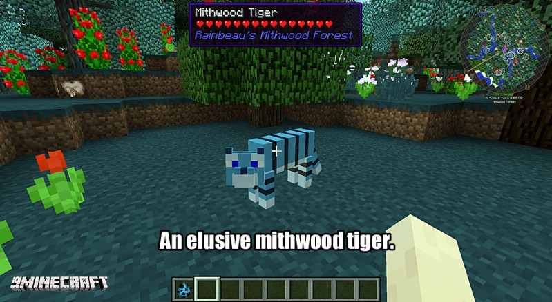 1474721947_910_Mithwood-Forest-Mod-1.10.2 Mithwood Forest Mod 1.10.2