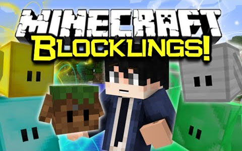 Blocklings-Mod-1.10.21.9.4 Blocklings Mod 1.10.2/1.9.4