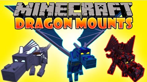 Dragon-Mounts-Mod-1.10.21.9.4 Dragon Mounts Mod 1.10.2/1.9.4
