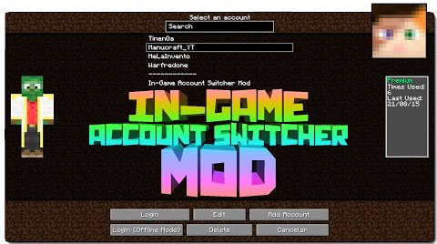 Ingame-Account-Switcher-Mod-1.10.21.9.4 Ingame Account Switcher Mod 1.10.2/1.9.4