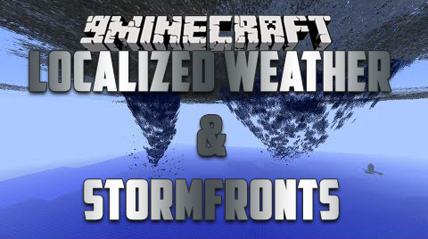 Localized-Weather-amp-Stormfronts-Mod-1.10.2 Localized Weather & Stormfronts Mod 1.10.2