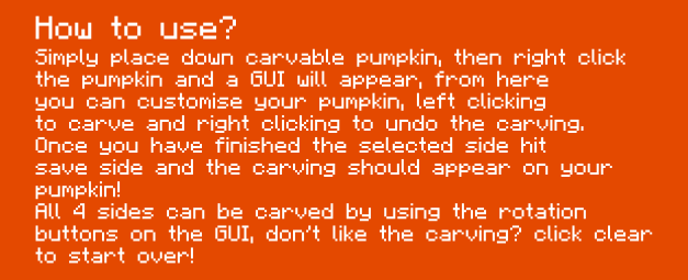 1477277962_225_Carvable-Pumpkins-Halloween-Mod-1.7.10 Carvable Pumpkins (Halloween) Mod 1.7.10