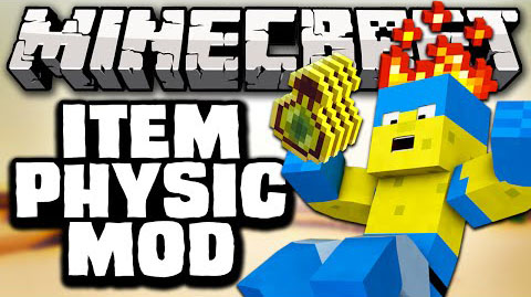 ItemPhysic-Mod-1.10.21.9.4 ItemPhysic Mod for Minecraft 1.11.2/1.10.2