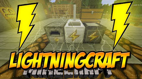 LightningCraft-Mod-1.10.21.9.4 LightningCraft Mod 1.10.2/1.9.4