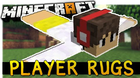 Player-Rugs-Mod-1.10.21.9.4 Player Rugs Mod 1.10.2/1.9.4