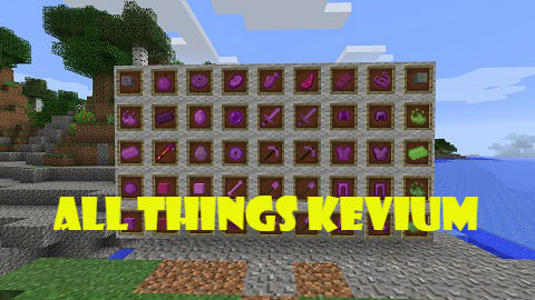 All-Things-Kevium All Things Kevium Mod 1.10.2