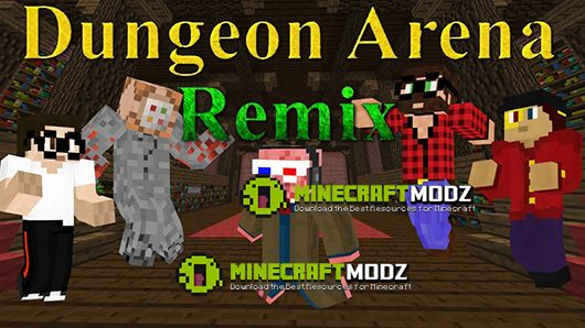 Dungeon-Arena-Remix-Map Dungeon Arena Remix Map 1.10.2