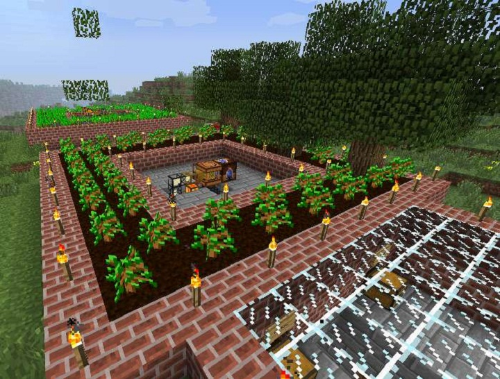 Forestry-Mod-1 Forestry Mod 1.10.2/1.9.4/1.7.10