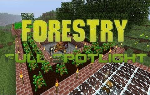 Forestry-Mod Forestry Mod 1.10.2/1.9.4/1.7.10