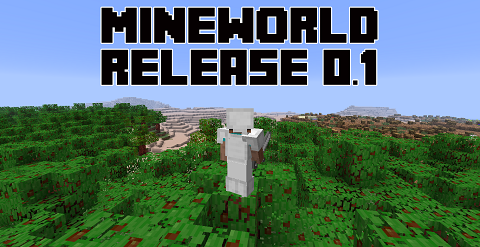 Mine-World Mine World Mod 1.10.2/1.9.4/1.8.9