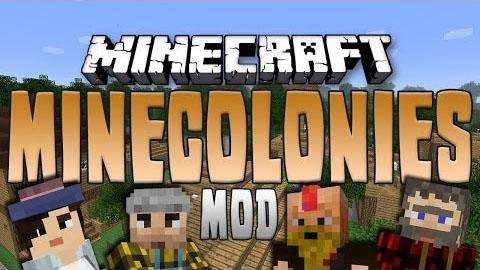 MineColonies-Mod Minecolonies Mod 1.10.2/1.8.9