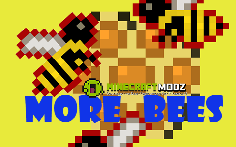 More-Bees More Bees Mod 1.10.2