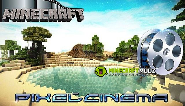 Pixel-Cinema-Texture-Pack Pixel Cinema Texture Pack for Minecraft 1.10.2/1.9.4/1.8.9