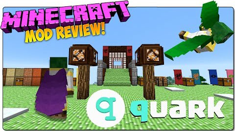 Quark-Mod-for-Minecraft-1.10.21.9.4 Quark Mod for Minecraft 1.10.2/1.9.4