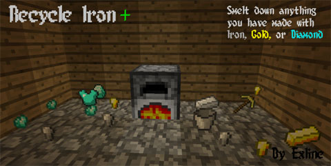 Recycle-Iron-Mod-1.10.2 Recycle Iron Mod 1.10.2