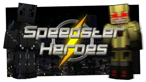Speedster-Heroes-The-Flash-Mod-1.8.9 Speedster Heroes (The Flash) Mod 1.8.9