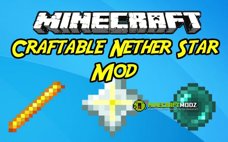 The-Nether-Star-Mod The Nether Star Mod 1.10.2/1.9
