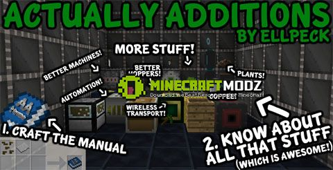 actually-additions-mod-1-11-01-10-21-7-10 Actually Additions Mod 1.11.0/1.10.2/1.7.10