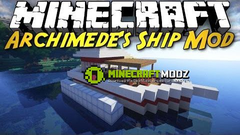 archimedes-ships-plus-mod-for-minecraft-1-10-21-7-10-2405 Archimede's Ships Plus Mod For Minecraft 1.10.2/1.7.10