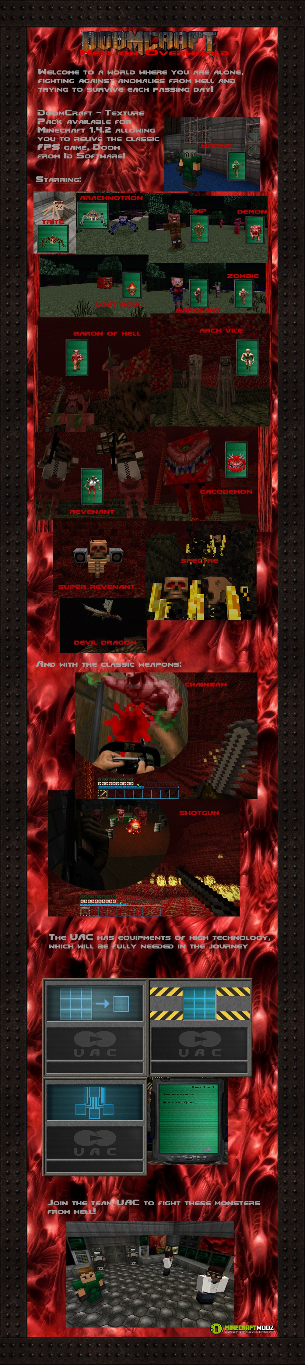 doom-craft-resource-texture-pack-1-81-7-51-7-41-7-21-6-4-2149-2 Doom Craft Resource (Texture) Pack 1.8/1.7.5/1.7.4/1.7.2/1.6.4