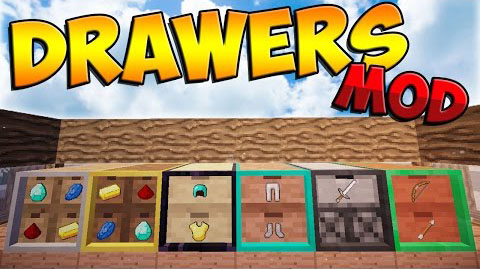 drawers-bits-mod-for-minecraft-1-10-21-9-4 Drawers & Bits Mod for Minecraft 1.10.2/1.9.4