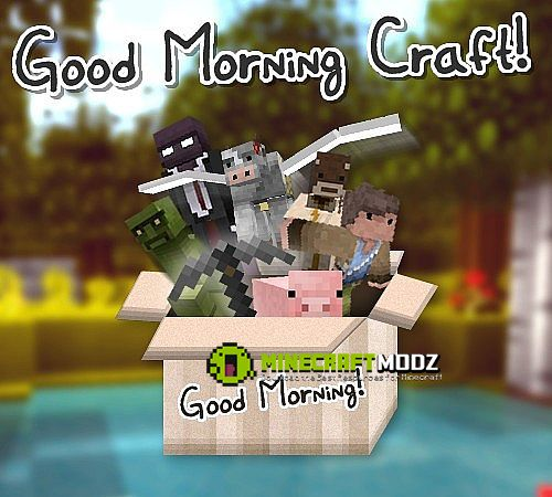good-morning-craft-resource-pack-for-minecraft-1-10-21-9-41-8-91-7-10-2450 Good Morning Craft Resource Pack For Minecraft 1.10.2/1.9.4/1.8.9/1.7.10