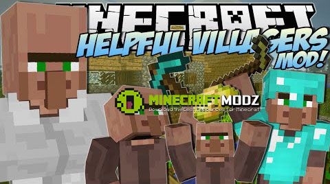 helpful-villagers-mod-for-minecaft-1-7-10-1531 Helpful Villagers Mod For Minecaft 1.7.10