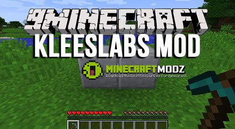 kleeslabs-mod-for-minecraft-1-11-01-10-21-7-10 KleeSlabs Mod for Minecraft 1.11.0/1.10.2/1.7.10
