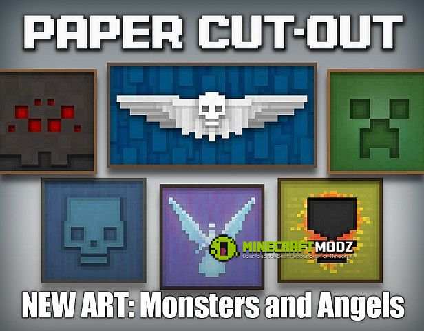 paper-cut-out-resource-pack-for-minecraft-1-10-21-9-41-8-91-7-101-7-2-1375-1 Paper Cut-Out Resource Pack For Minecraft 1.10.2/1.9.4/1.8.9/1.7.10/1.7.2