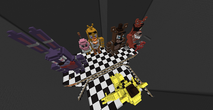 project-nightmare-a-fnaf-roller-coaster-2 Project Nightmare Map 1.10.2