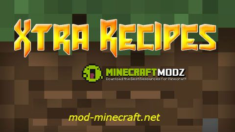 xtra-recipes-mod-for-minecraft-1-7-101-5-21-5-1-1715 Xtra Recipes Mod For Minecraft 1.7.10/1.5.2/1.5.1