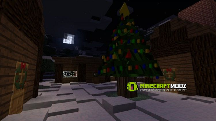 Decoratable-Christmas-Trees-2 Decoratable Christmas Trees Mod 1.10.2/1.7.10