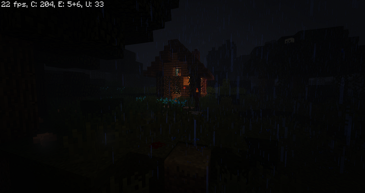 a-dark-and-stormy-night-in-the-forest-1 A Dark And Storm Night In The Forest Map 1.10.2