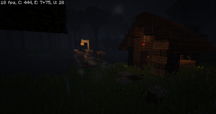 a-dark-and-stormy-night-in-the-forest-3 A Dark And Storm Night In The Forest Map 1.10.2