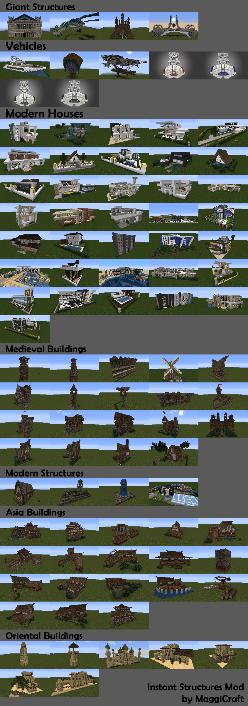 instant-structures-mod-by-maggicraft-1-111-10-21-7-10 Instant Structures Mod by MaggiCraft 1.11/1.10.2/1.7.10