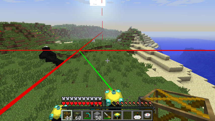 lasers ChickenChunks Mod 1.10.2/1.9.4/1.7.10