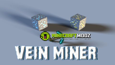 vein-miner-mod-for-minecraft-1-111-10-21-7-10 Vein Miner Mod for Minecraft 1.11/1.10.2/1.7.10