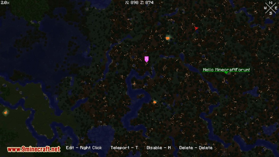 1484281967_535_world-map-mod-1-11-21-10-21-7-10 World Map Mod 1.11.2/1.10.2/1.7.10