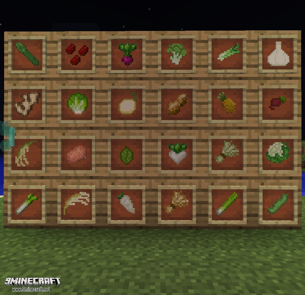 1484941445_287_harvestcraft-mod-1-11-21-10-21-7-10-for-minecraft HarvestCraft Mod 1.11.2/1.10.2/1.7.10 for Minecraft