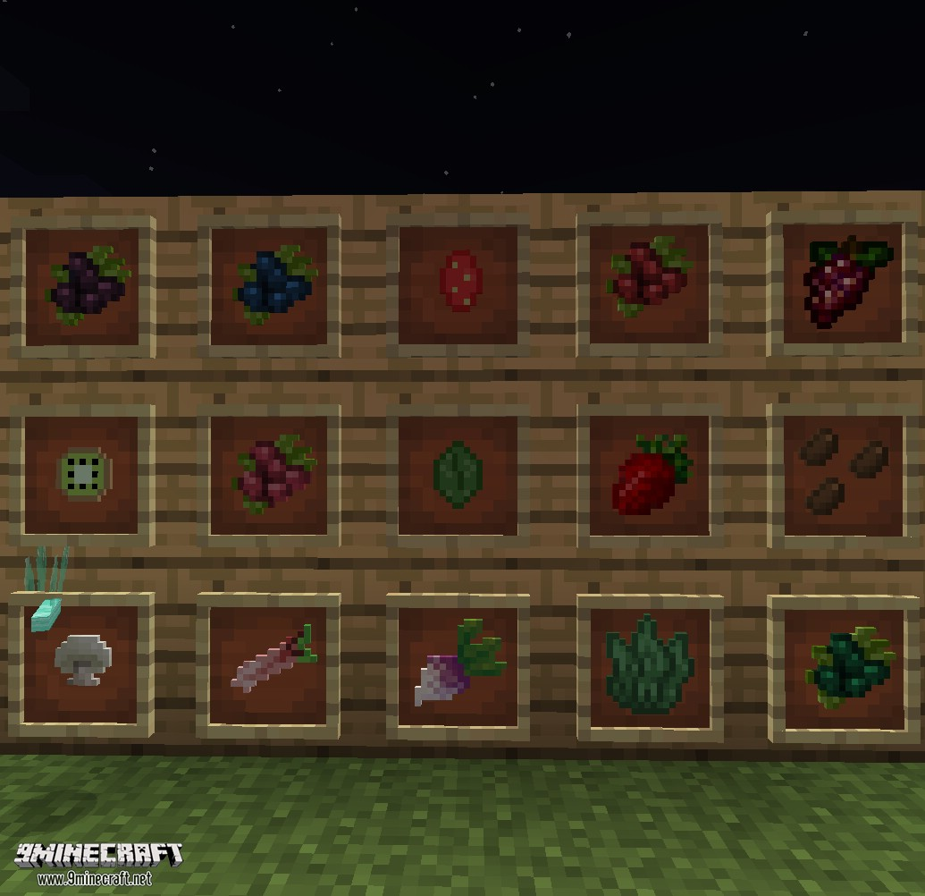 1484941446_422_harvestcraft-mod-1-11-21-10-21-7-10-for-minecraft HarvestCraft Mod 1.11.2/1.10.2/1.7.10 for Minecraft