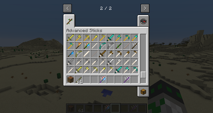 Advanced-Sticks-4 Advanced Sticks Mod 1.11.2/1.10.2/1.9.4