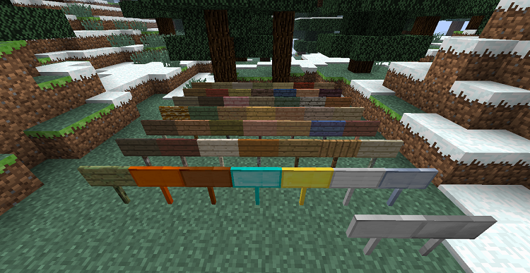 MoarSigns-Mod-4 MoarSigns Mod 1.10.2/1.9.4/1.8.9/1.7.10