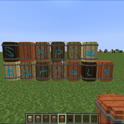 Simple-Barrels-Mod Simple Barrels Mod 1.10.2/1.9.4